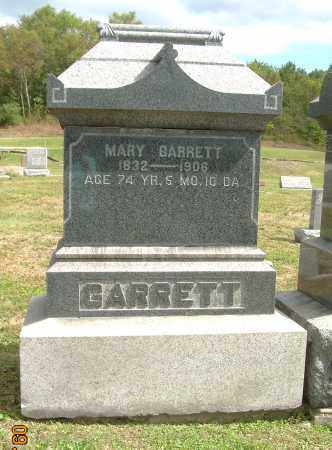 BARRETT, MARY - Carroll County, Ohio | MARY BARRETT - Ohio Gravestone Photos