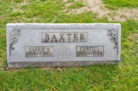BAXTER, CARRIE M. - Carroll County, Ohio | CARRIE M. BAXTER - Ohio Gravestone Photos