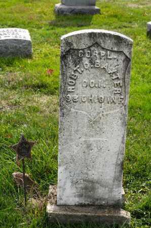 BAXTER, ROBERT O - Carroll County, Ohio | ROBERT O BAXTER - Ohio Gravestone Photos