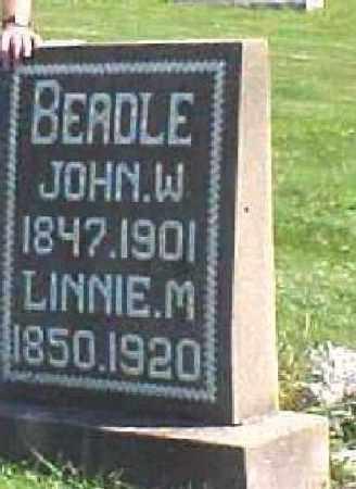 HEWITT, MALINDA (LINNIE) - Carroll County, Ohio | MALINDA (LINNIE) HEWITT - Ohio Gravestone Photos