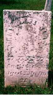 BLACK, MARY JANE - Carroll County, Ohio | MARY JANE BLACK - Ohio Gravestone Photos