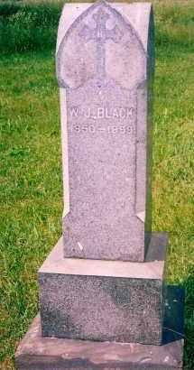 BLACK, WILLIAM J. - Carroll County, Ohio   WILLIAM J. BLACK - Ohio Gravestone Photos