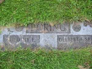 IRWIN BORING, DOROTHY E. - Carroll County, Ohio | DOROTHY E. IRWIN BORING - Ohio Gravestone Photos