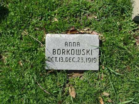 BORKOWSKI, ANNA - Carroll County, Ohio | ANNA BORKOWSKI - Ohio Gravestone Photos