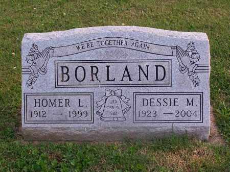 BORLAND, DESSIE - Carroll County, Ohio | DESSIE BORLAND - Ohio Gravestone Photos