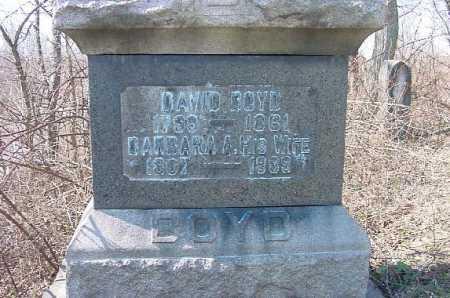 BOYD, BARBARA A. - Carroll County, Ohio   BARBARA A. BOYD - Ohio Gravestone Photos