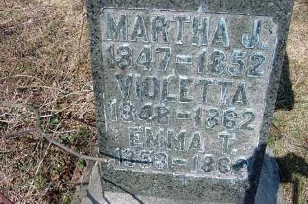 BOYD, MARTHA J. - Carroll County, Ohio   MARTHA J. BOYD - Ohio Gravestone Photos