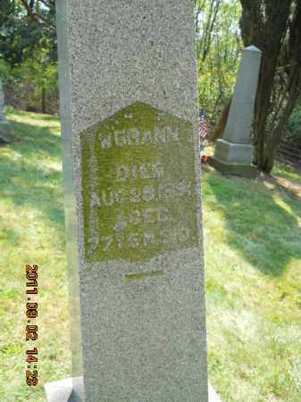BRANN, WILLIAM - Carroll County, Ohio   WILLIAM BRANN - Ohio Gravestone Photos