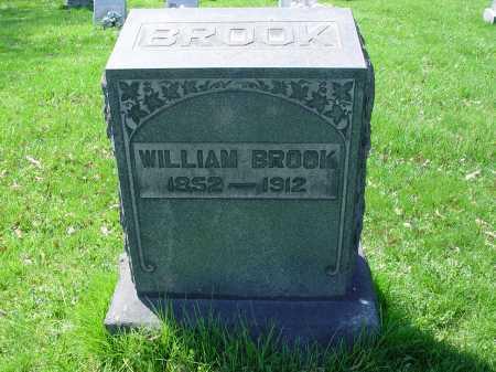 BROOK, WILLIAM - Carroll County, Ohio | WILLIAM BROOK - Ohio Gravestone Photos