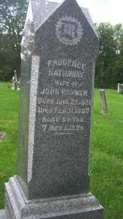 HATHAWAY BROWER, PRUDENCE - Carroll County, Ohio | PRUDENCE HATHAWAY BROWER - Ohio Gravestone Photos