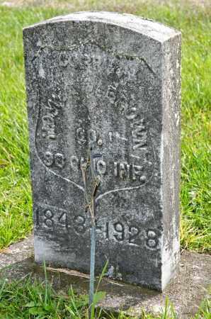 BROWN, HOMER C. - Carroll County, Ohio | HOMER C. BROWN - Ohio Gravestone Photos