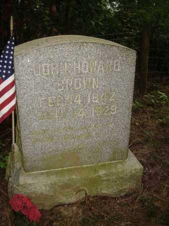 BROWN, JOHN HOWARD - Carroll County, Ohio | JOHN HOWARD BROWN - Ohio Gravestone Photos