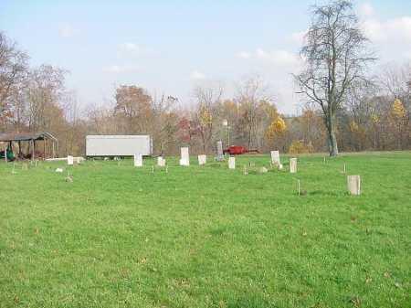 BRUSH CREEK BAPTIST, CEMETERY - VIEW 3 - Carroll County, Ohio | CEMETERY - VIEW 3 BRUSH CREEK BAPTIST - Ohio Gravestone Photos