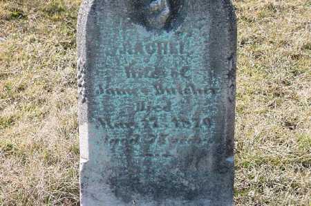 BUTCHER, RACHEL - Carroll County, Ohio   RACHEL BUTCHER - Ohio Gravestone Photos