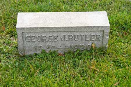 BUTLER, GEORGE J. - Carroll County, Ohio   GEORGE J. BUTLER - Ohio Gravestone Photos