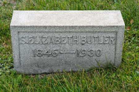 SKEELES BUTLER, SARAH ELIZABETH - Carroll County, Ohio | SARAH ELIZABETH SKEELES BUTLER - Ohio Gravestone Photos