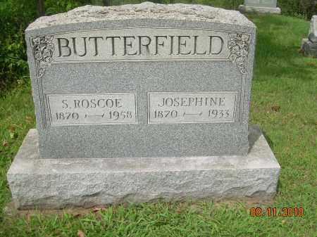 STEWART BUTTERFIELD, JOSEPHINE - Carroll County, Ohio | JOSEPHINE STEWART BUTTERFIELD - Ohio Gravestone Photos