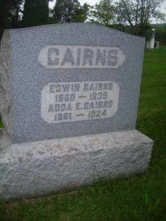 CAIRNS, ADDA E - Carroll County, Ohio | ADDA E CAIRNS - Ohio Gravestone Photos