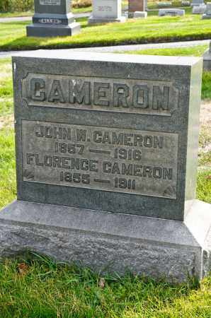 CAMERON, JOHN W. - Carroll County, Ohio | JOHN W. CAMERON - Ohio Gravestone Photos