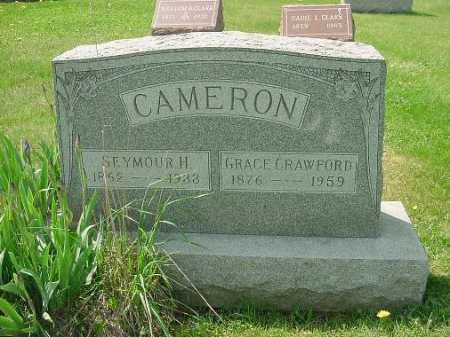 CAMERON, GRACE - Carroll County, Ohio   GRACE CAMERON - Ohio Gravestone Photos