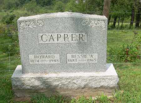 CAPPER, BESSIE A - Carroll County, Ohio | BESSIE A CAPPER - Ohio Gravestone Photos