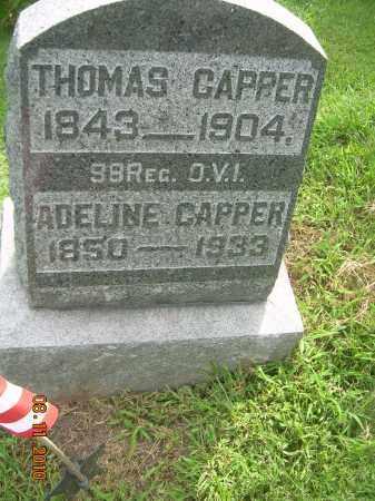 FAWCETT CAPPER, ADELINE - Carroll County, Ohio | ADELINE FAWCETT CAPPER - Ohio Gravestone Photos