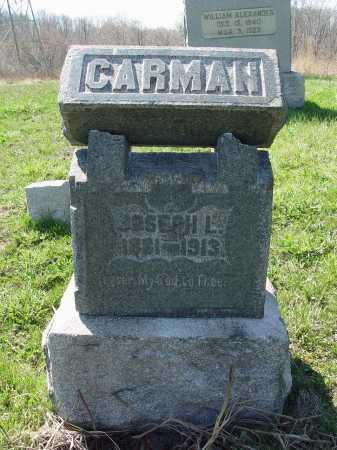 CARMAN, JOSEPH L. - Carroll County, Ohio | JOSEPH L. CARMAN - Ohio Gravestone Photos