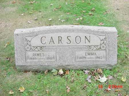CARSON, JAMES L. - Carroll County, Ohio | JAMES L. CARSON - Ohio Gravestone Photos