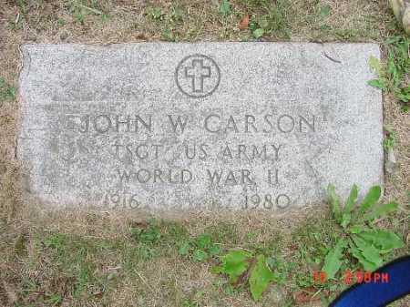 CARSON, JOHN - Carroll County, Ohio   JOHN CARSON - Ohio Gravestone Photos