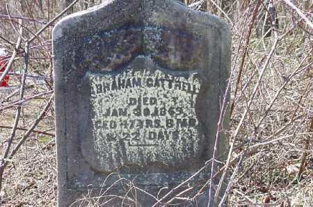 CATTRELL, ABRAHAM - Carroll County, Ohio | ABRAHAM CATTRELL - Ohio Gravestone Photos