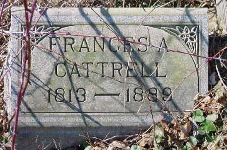 CATTRELL, FRANCES A. - Carroll County, Ohio | FRANCES A. CATTRELL - Ohio Gravestone Photos