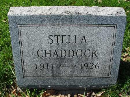 CHADDOCK, STELLA - Carroll County, Ohio | STELLA CHADDOCK - Ohio Gravestone Photos
