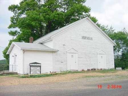 CHESTNUT RIDGE, CHURCH - Carroll County, Ohio | CHURCH CHESTNUT RIDGE - Ohio Gravestone Photos