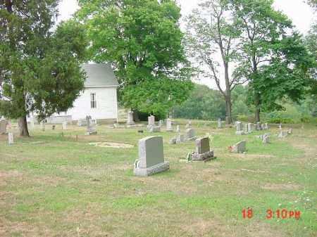 CHESTNUT RIDGE CHURCH, CEMETERY - Carroll County, Ohio | CEMETERY CHESTNUT RIDGE CHURCH - Ohio Gravestone Photos