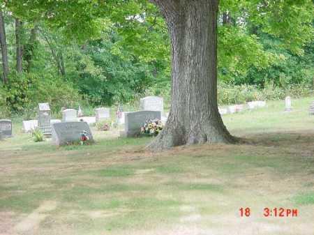CHESTNUT RIDGE CHURCH, CEMETERY #3 - Carroll County, Ohio   CEMETERY #3 CHESTNUT RIDGE CHURCH - Ohio Gravestone Photos