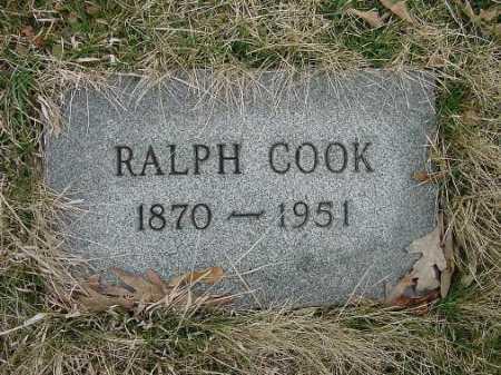 COOK, RALPH - Carroll County, Ohio | RALPH COOK - Ohio Gravestone Photos