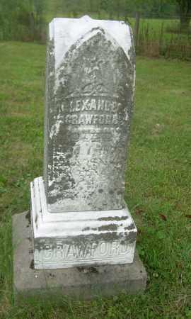 CRAWFORD, ALEXANDER - Carroll County, Ohio | ALEXANDER CRAWFORD - Ohio Gravestone Photos