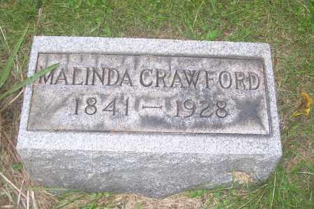 CRAWFORD, MALINDA - Carroll County, Ohio | MALINDA CRAWFORD - Ohio Gravestone Photos
