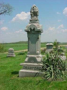 CRAWFORD, MONUMENTT - Carroll County, Ohio | MONUMENTT CRAWFORD - Ohio Gravestone Photos