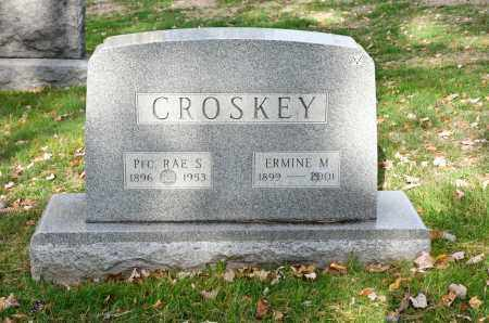 CROSKEY, ERMINE M. - Carroll County, Ohio | ERMINE M. CROSKEY - Ohio Gravestone Photos