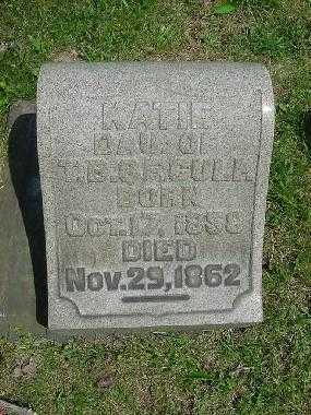 CULP, KATIE - Carroll County, Ohio | KATIE CULP - Ohio Gravestone Photos