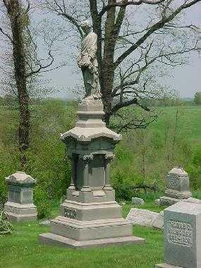 CULP, MONUMENT - Carroll County, Ohio | MONUMENT CULP - Ohio Gravestone Photos