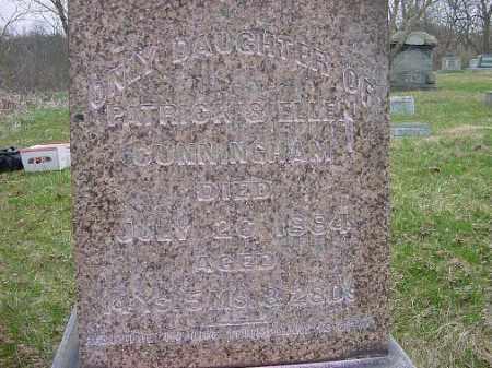 CUMMINGHAM, ANNIE - Carroll County, Ohio | ANNIE CUMMINGHAM - Ohio Gravestone Photos