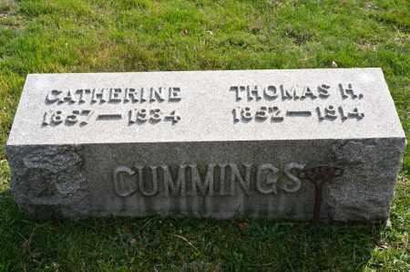 COLEMAN CUMMINGS, CATHERINE - Carroll County, Ohio   CATHERINE COLEMAN CUMMINGS - Ohio Gravestone Photos