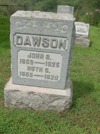 DAWSON, JOHN B - Carroll County, Ohio | JOHN B DAWSON - Ohio Gravestone Photos