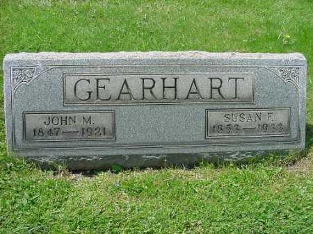 DEARHART, SUSAN F. - Carroll County, Ohio   SUSAN F. DEARHART - Ohio Gravestone Photos