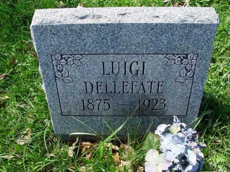 DELLEFATE, LUIGI - Carroll County, Ohio | LUIGI DELLEFATE - Ohio Gravestone Photos
