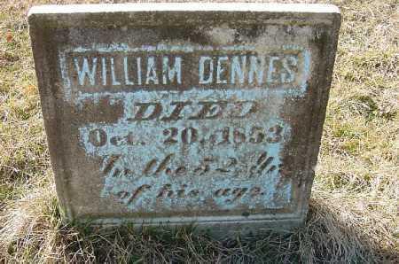 DENNES, WILLIAM - Carroll County, Ohio | WILLIAM DENNES - Ohio Gravestone Photos