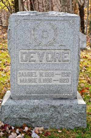 DEVORE, MAGGIE - Carroll County, Ohio | MAGGIE DEVORE - Ohio Gravestone Photos