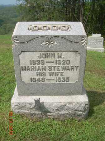 STEWART DODD, MARIAM - Carroll County, Ohio | MARIAM STEWART DODD - Ohio Gravestone Photos